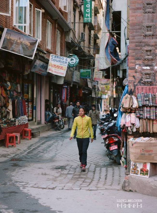 Mira in Thamel
